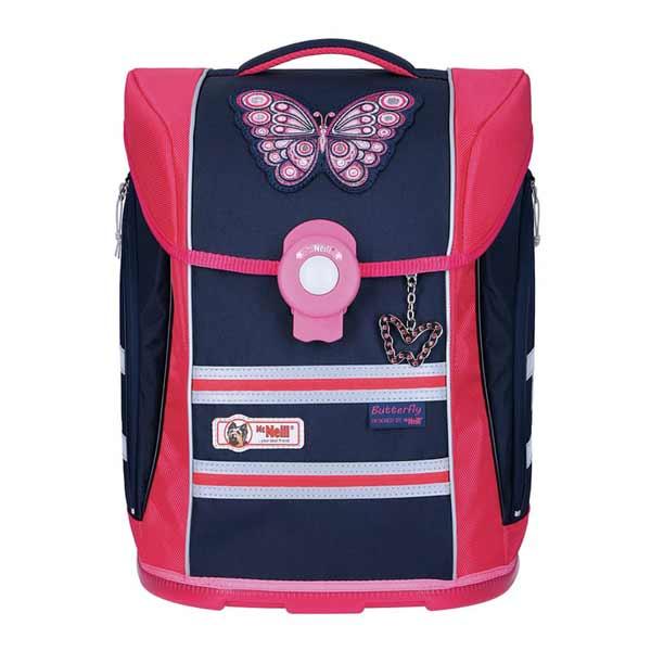 Schulranzen McNeill Ergo Primero Butterfly Pink Blau