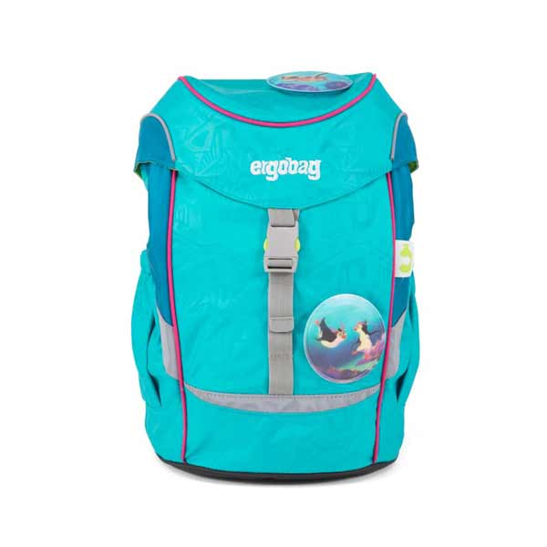 Schulranzen Ergobag Pack mini-HulahoopBaer hellblau