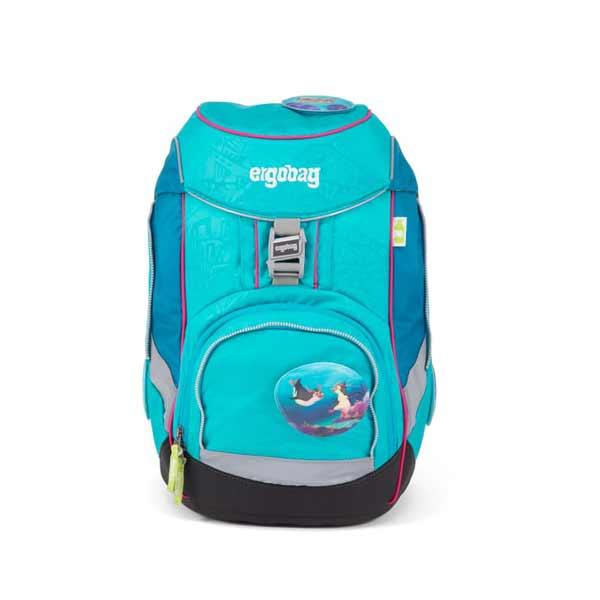 Schulranzen Ergobag Pack Hula-HoopBaer blau hellblau