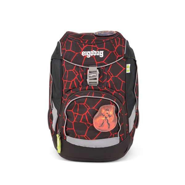 Schulranzen Ergobag Pack Superbaerheld rot schwarz