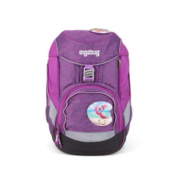 Schulranzen Ergobag Pack Insel-Hoppbaer lila pink