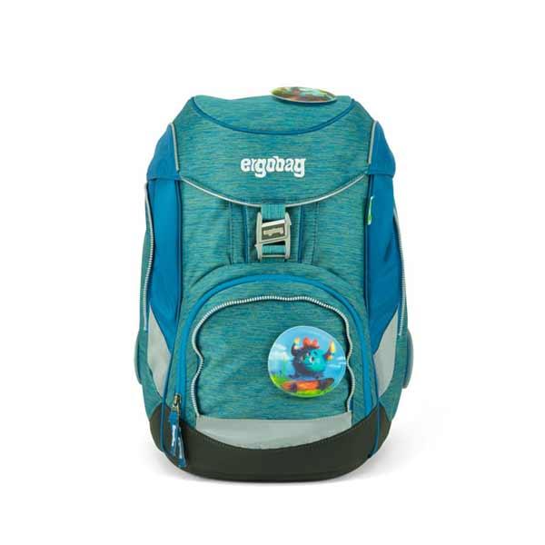 Schulranzen Ergobag Pack MonstBaerfreunde blau hellblau