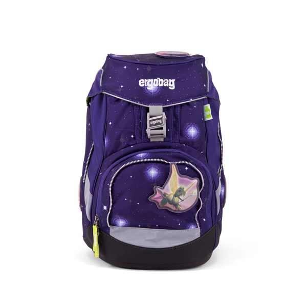 Schulranzen Ergobag Pack FeenzauBaer-Glow lila schwarz blau