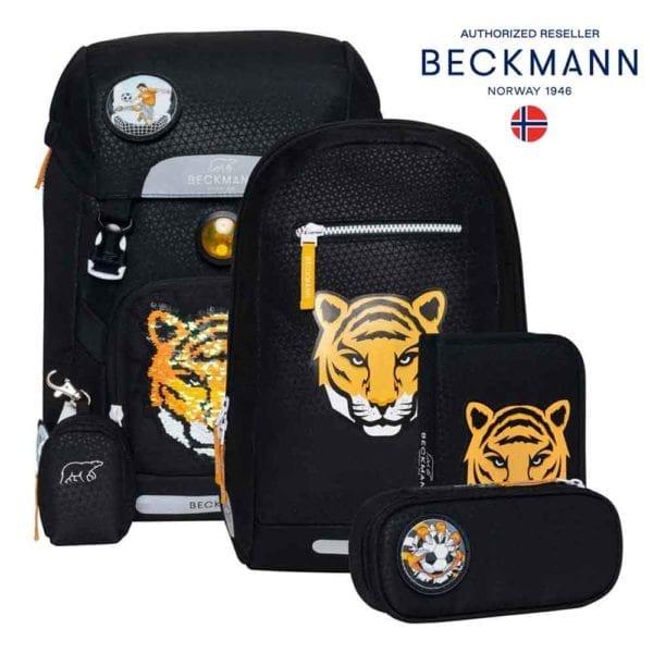 Beckmann Classic Tiger Teym Pailetten gesamtbild