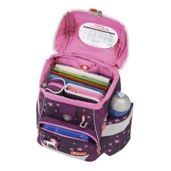 Step by Step 2 in 1 plus Unicorn Rucksack seite