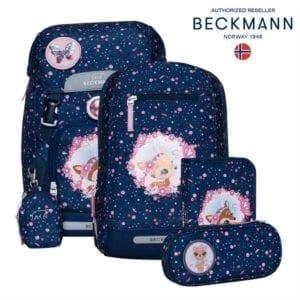 beckmann forest deer blue classic gesamtbild