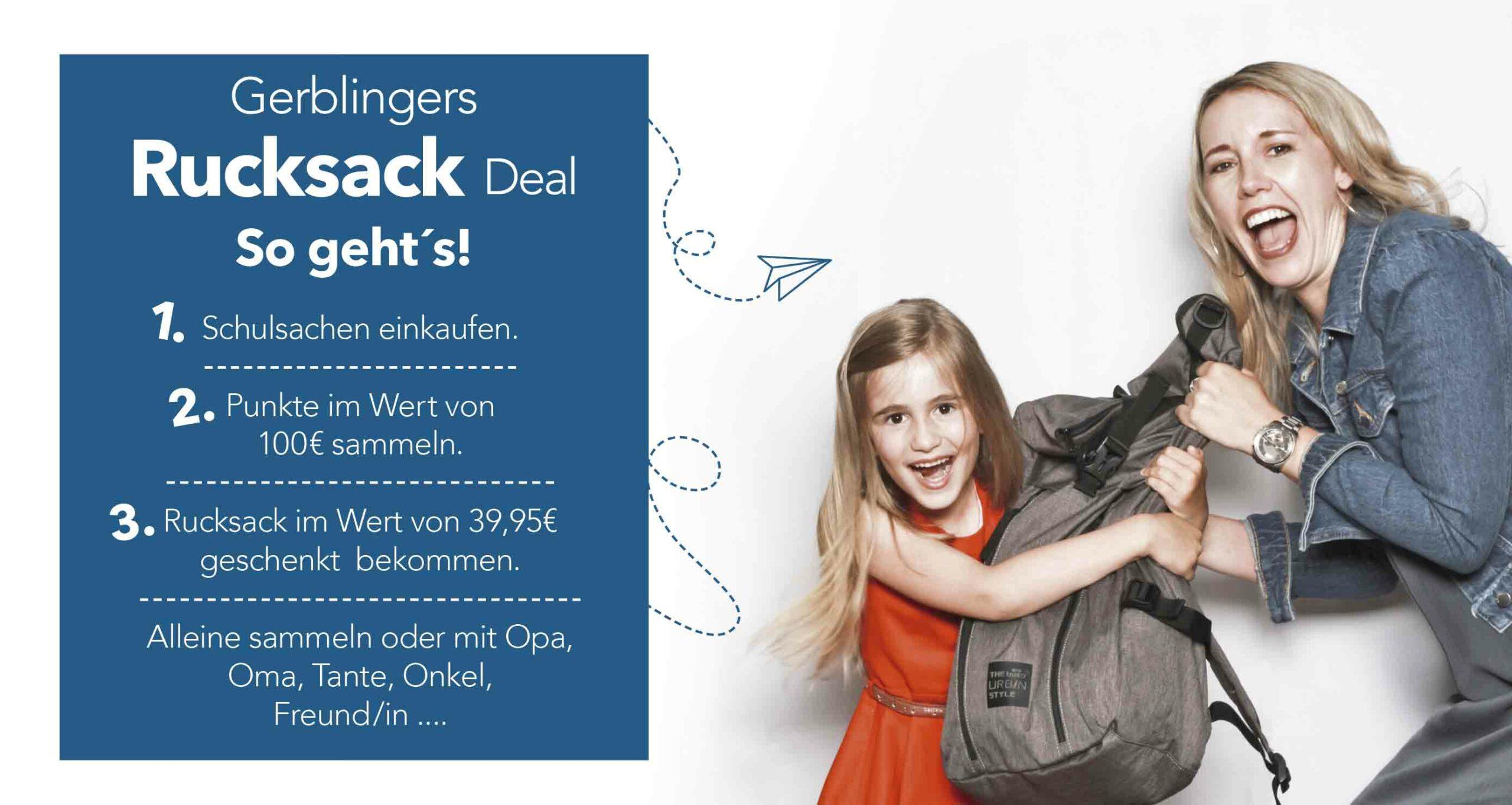 Rucksack Deal
